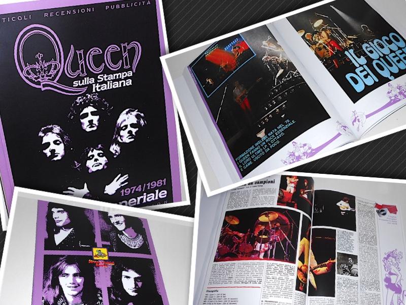 New Issue Ultra Limited Edition QUEEN SULLA STAMPA ITALIANA Vol. 1
