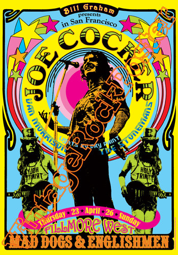 Joe Cocker Benvenuti Su Vintagerockposter
