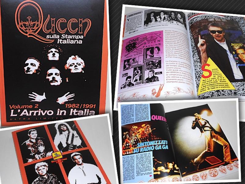 New Issue Ultra Limited edition QUEEN SULLA STAMPA ITALIANA Vol. 2