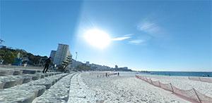 関西でおすすめの海水浴場5選 和歌山県西牟禮郡白浜町 白良浜 ビーチ写真1