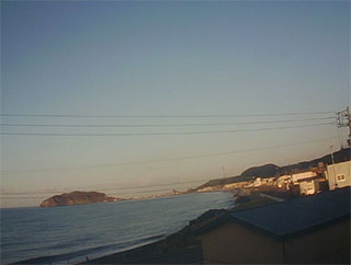 サーフィン波情報-無料ライブカメラ-様似-サンプルキャプチャ-北海道様似郡様似町-ライブ動画-道央エリア(太平洋)-北海道-サーフポイント・親子岩前-サーファーズオーシャンSurfers'Ocean