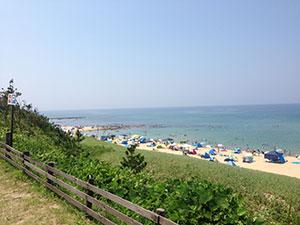 関西でおすすめの海水浴場5選 京都府京丹後市網野町 琴引浜 夏1