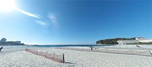 関西でおすすめの海水浴場5選 和歌山県西牟禮郡白浜町 白良浜 ビーチ写真2