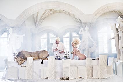 """Titel the lion Seelos tonight"""", 2010, Größe 100x70cm, Limitiert auf 10, AgX Print unter Acrylglas auf Alucobond. Preis 3.800 Euro"""