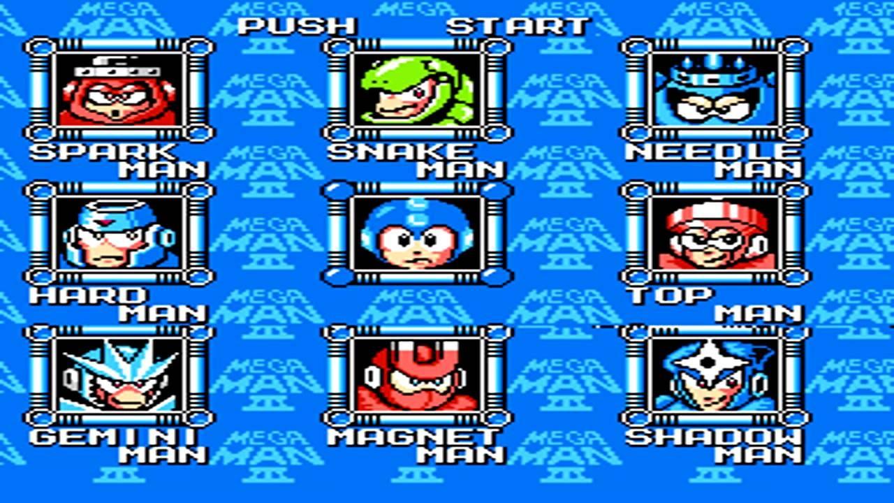Mega Man 3 ( Nintendo ) - Sergo Breakz
