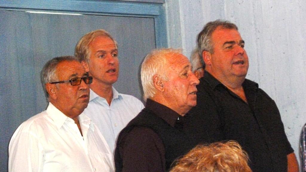 MGV umrahmt das Erntedankfest in der Ev. Jakobskirche Breuningsweiler
