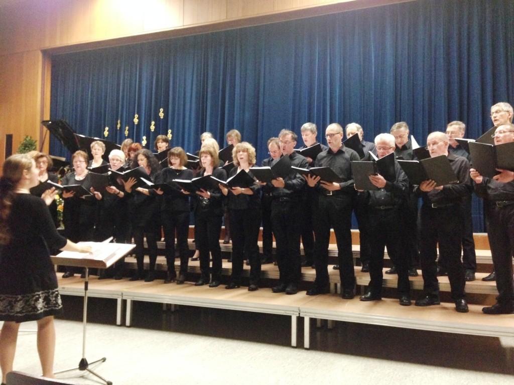 Liederabend der Sängervereinigung der Berglen 2015 | Chor Buhlbronn, Ltg. Polina Jakovleva | Foto: Maximilian Friedrich