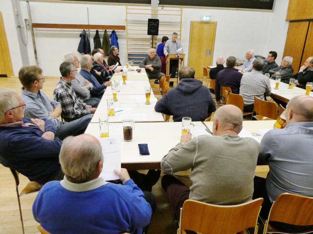 MGV Hauptversammlung am 23.02.2019
