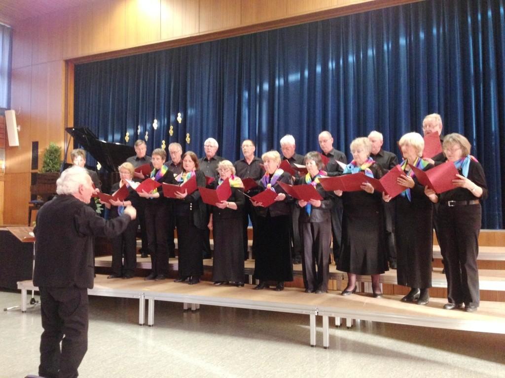 Liederabend der Sängervereinigung der Berglen 2015 | Kammerchor Winnenden, Ltg. Winfried Gutemann | Foto: Maximilian Friedrich