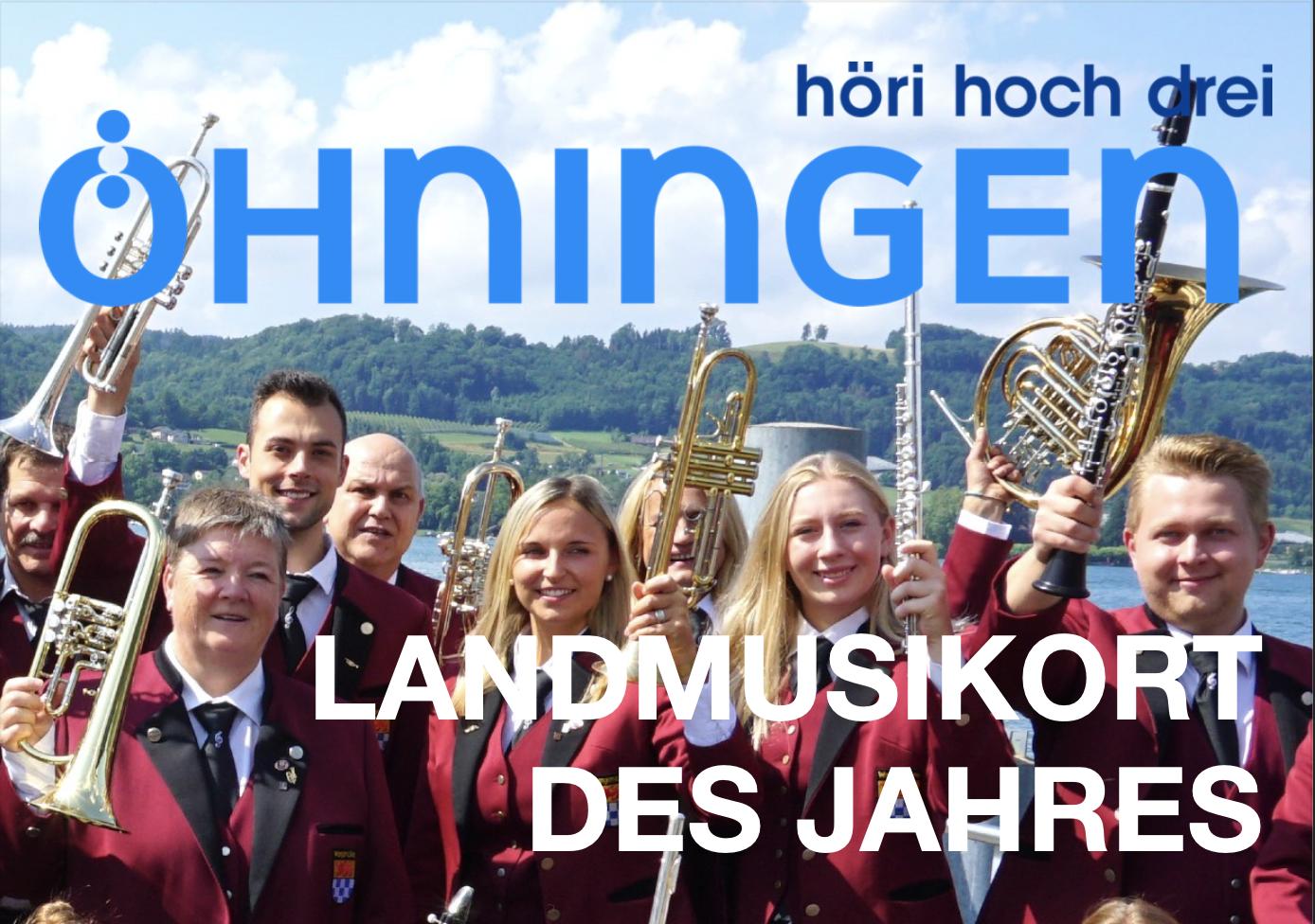 Öhningen ist Landmusikort des Jahres!
