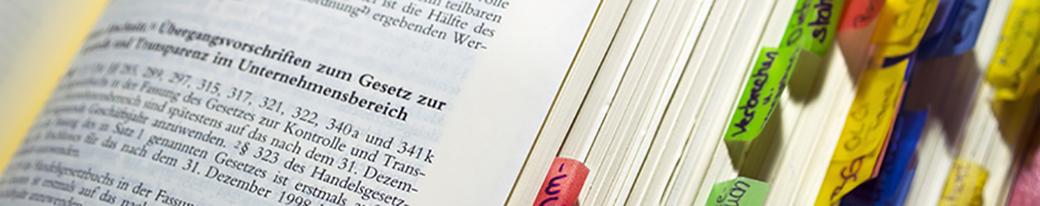 Unternehmensspezifische Inhouse Rechts Seminare / Schulungen - IRW Institut für Recht & Wirtschaft - Dr. jur. Michael Fingerhut - München