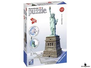 Empfehlung Ravensburger 3D-Puzzle Freiheitsstatue New York 12584