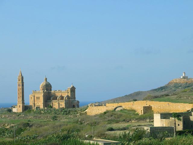 Ta' Pinu eine der schönsten Kirchen auf Gozo