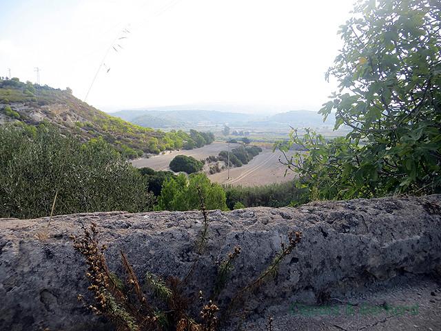 Es gibt auch viel Landwirtschaft auf Sizilien