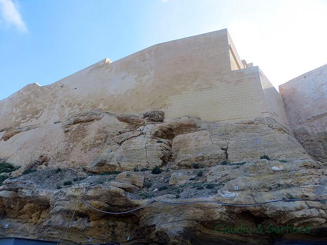 Die Zitadelle wird auch renoviert.
