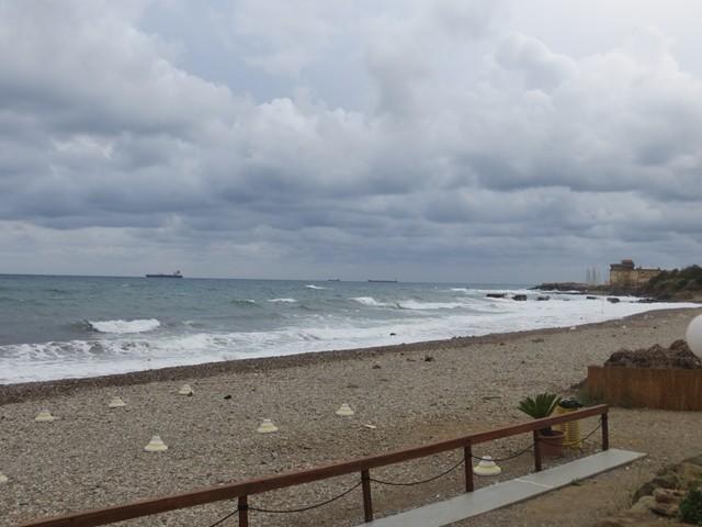 Bei Ladispoli am Meer