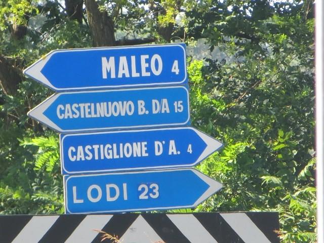 Von Lodi kam ich nach Castelnuovo fuhr ich