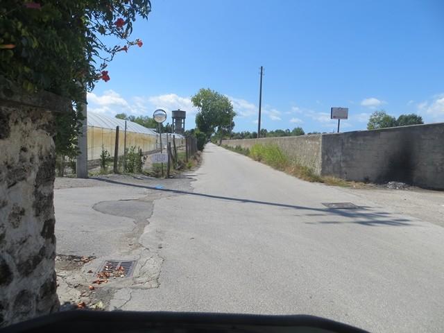 Solche Strassen fährt man mit Navi ohne Autobahn und Maut