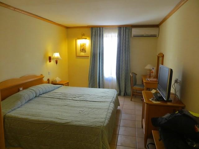 Das Zimmer im Altbau des Hotels