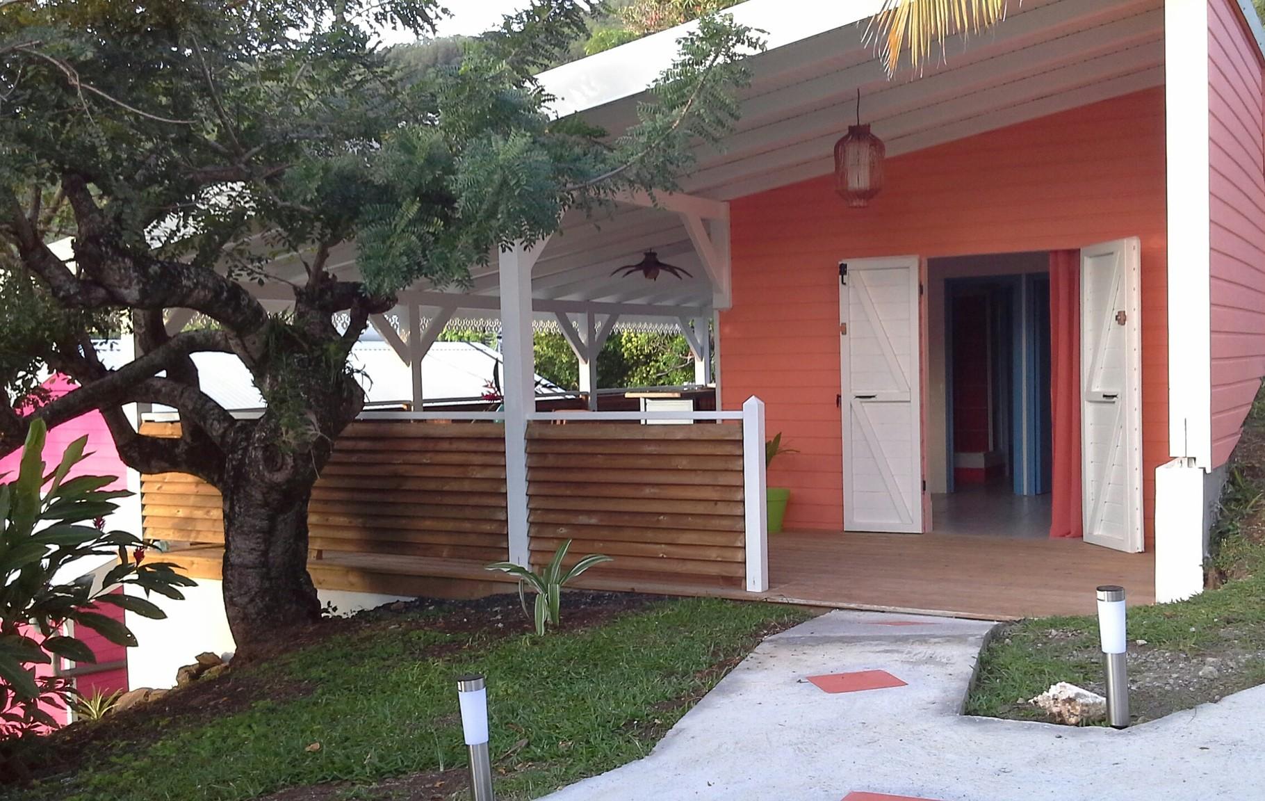 Coloured bungalow