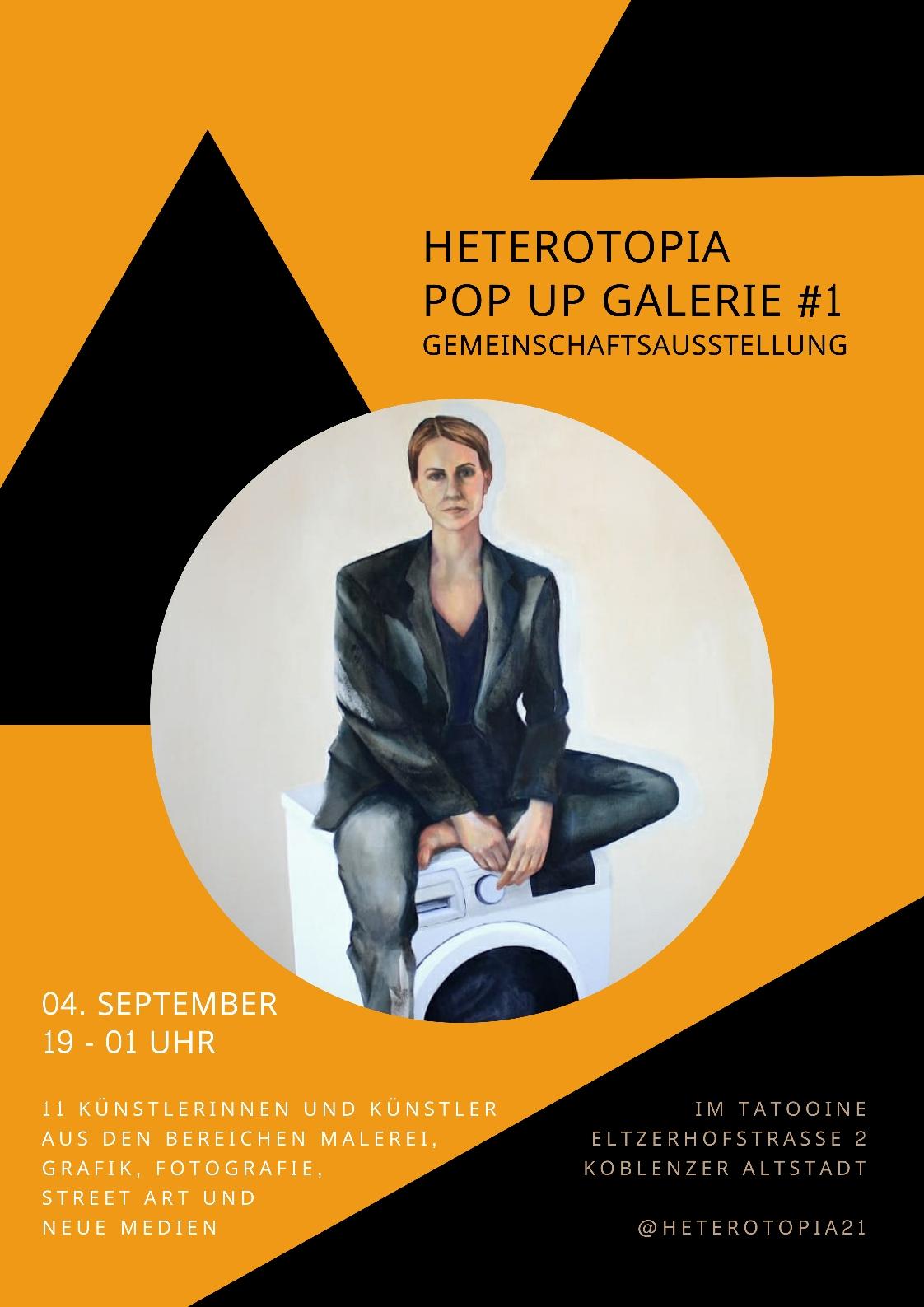 Heterotopia Pop Up Galerie #1  -  Koblenz