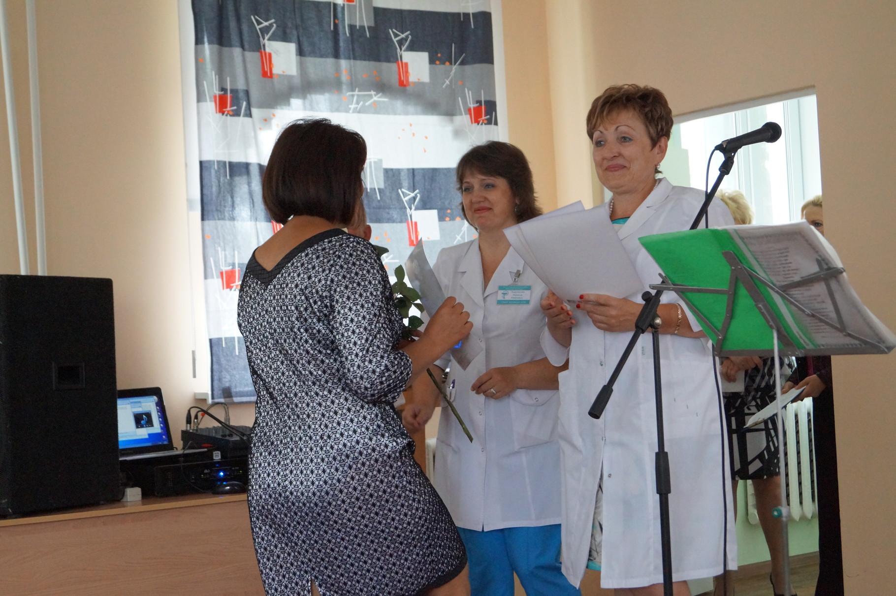 Главный врач больницы И.Л.Бояркина