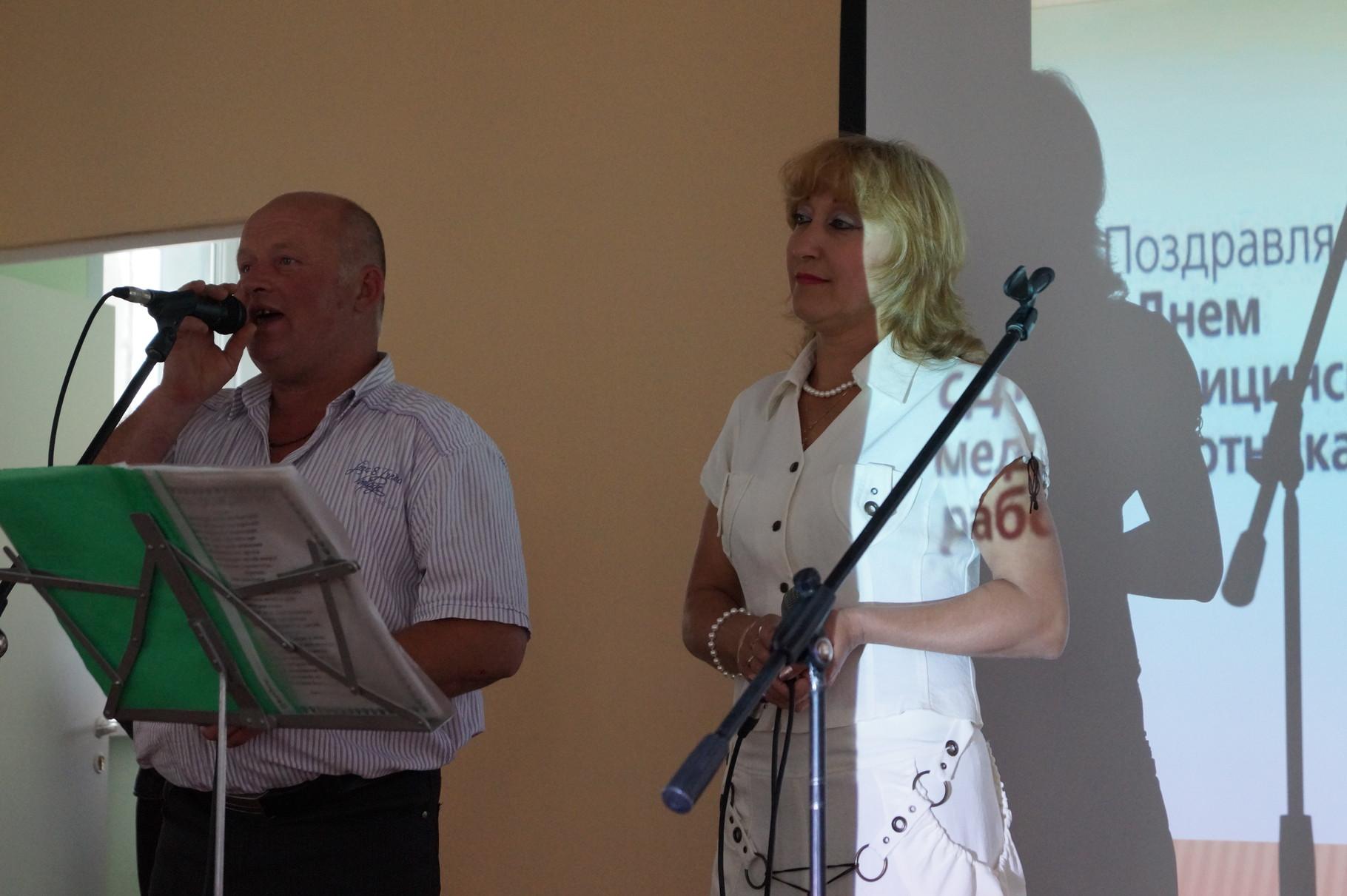В.Тимофеев и Н.Иванова, в подарок медикам - хорошая песня