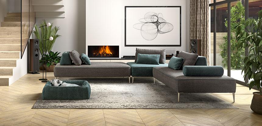 Dondi Salotti ci elenca i motivi principali per scegliere un divano modulare