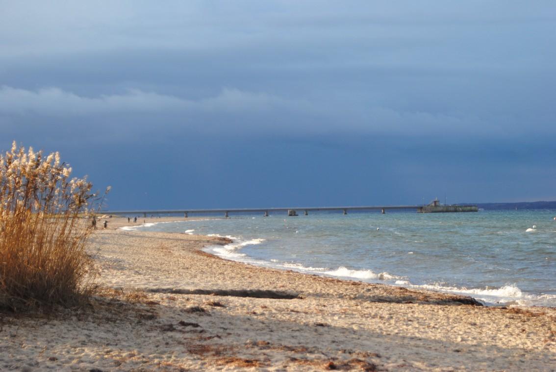 am Strand von Noer