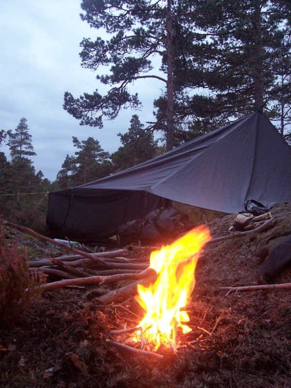 Outdoorcamping in Schweden