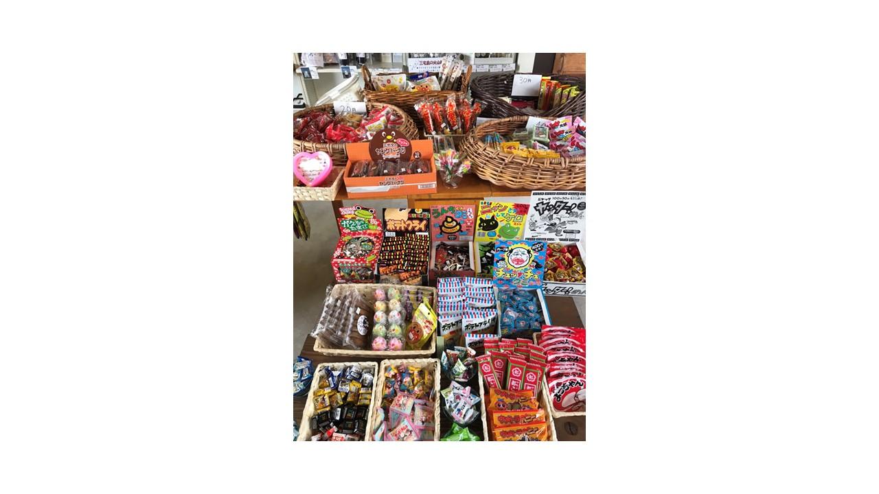 しまのこし 住吉店 駄菓子の販売を始めました!