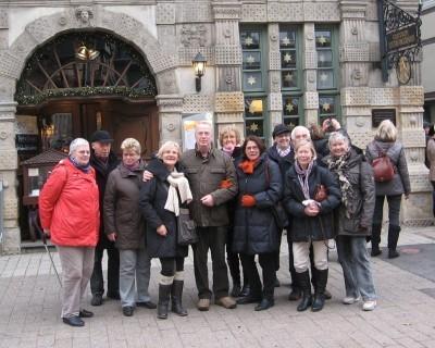 Gruppenfoto Adentsreise 2011