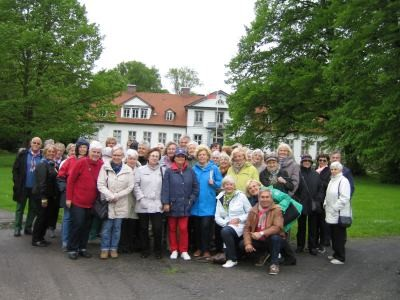 Gruppenfoto Tagesausflug Haseldorfer Marsch