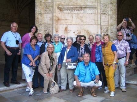 Gruppenfoto der Portugal-Reisenden