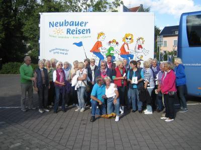 TeilnehmerInnen Schiffs- und Fahrradtour Schlei