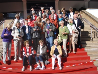 Gruppenfoto Südfrankreich