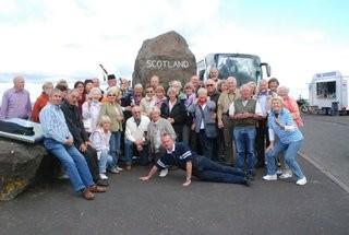 Gruppenfoto Schottlandreise