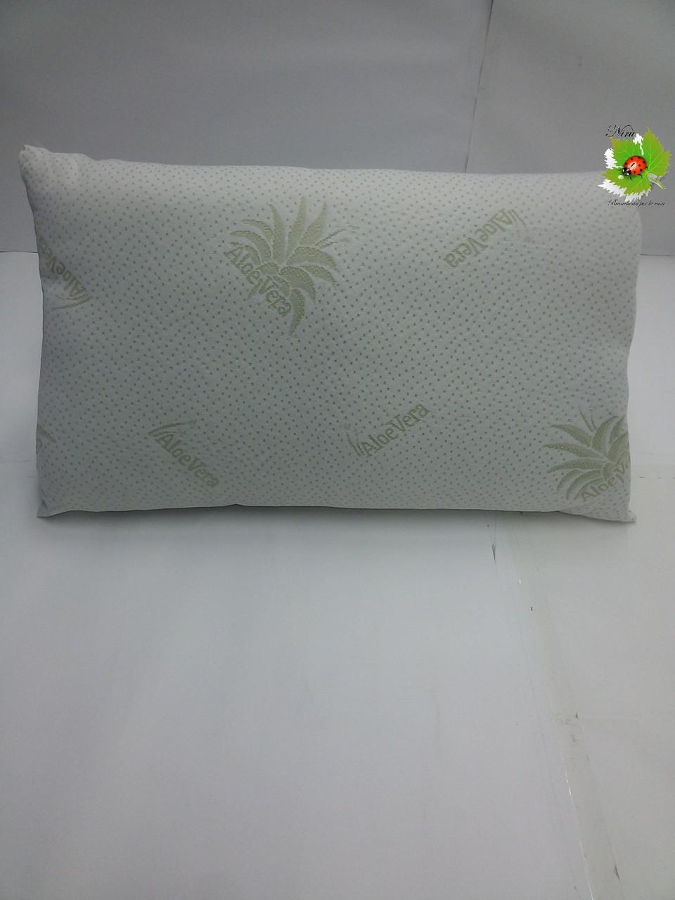 Cuscino guanciale Aloe Vera 43x72 cm.Art.A006