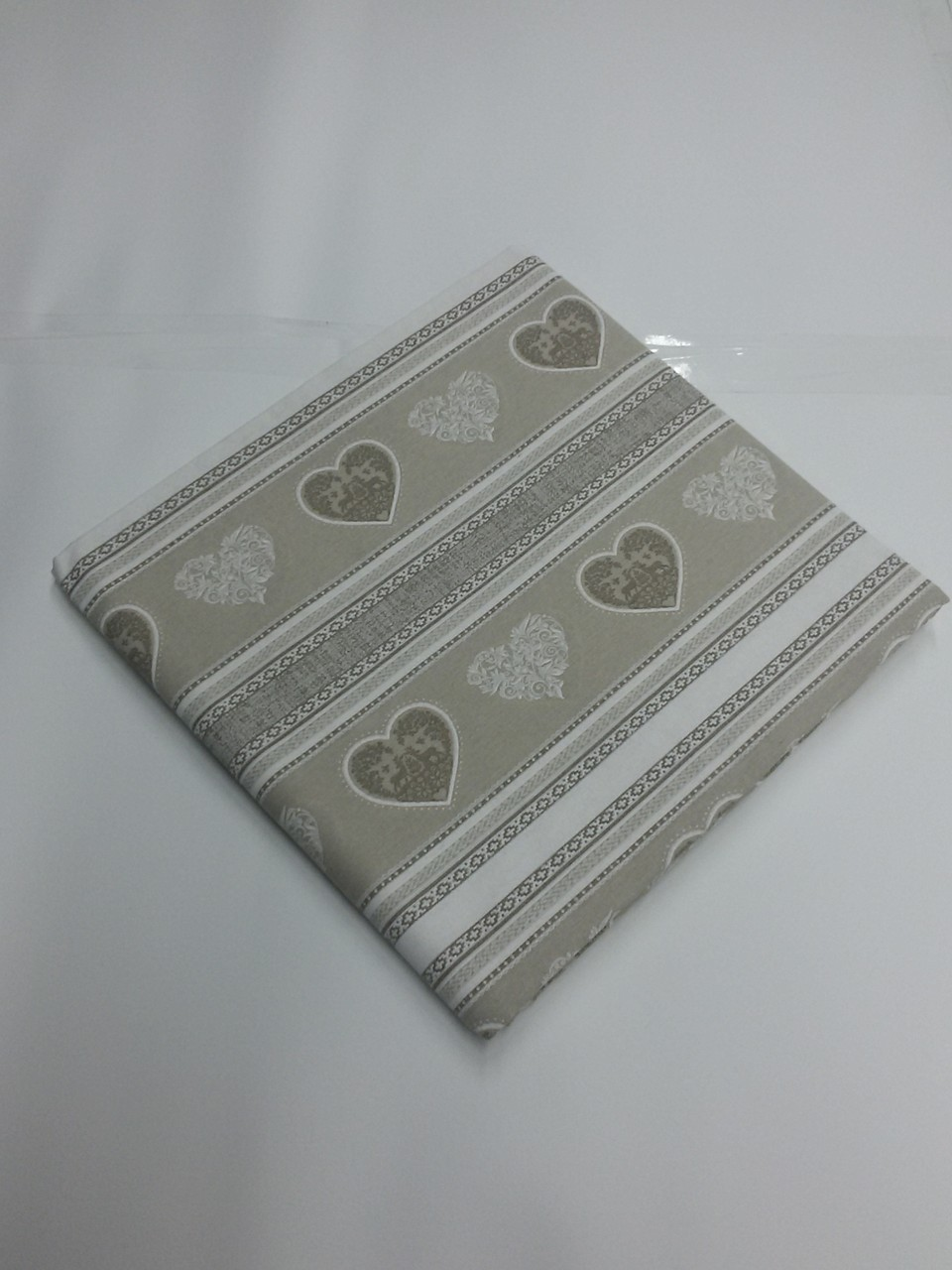 Tessuto in cotone Panama 270x280 cm col.beige chiaro Art.A425
