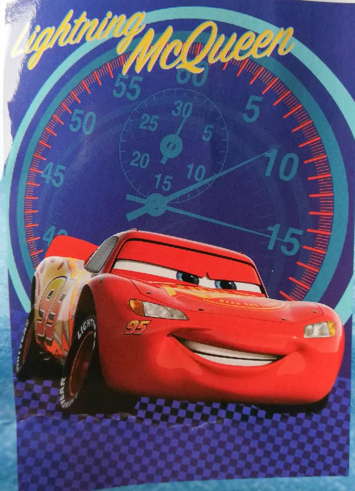 Plaid in soffice pile Cars MC Queen 100x140 cm. B597
