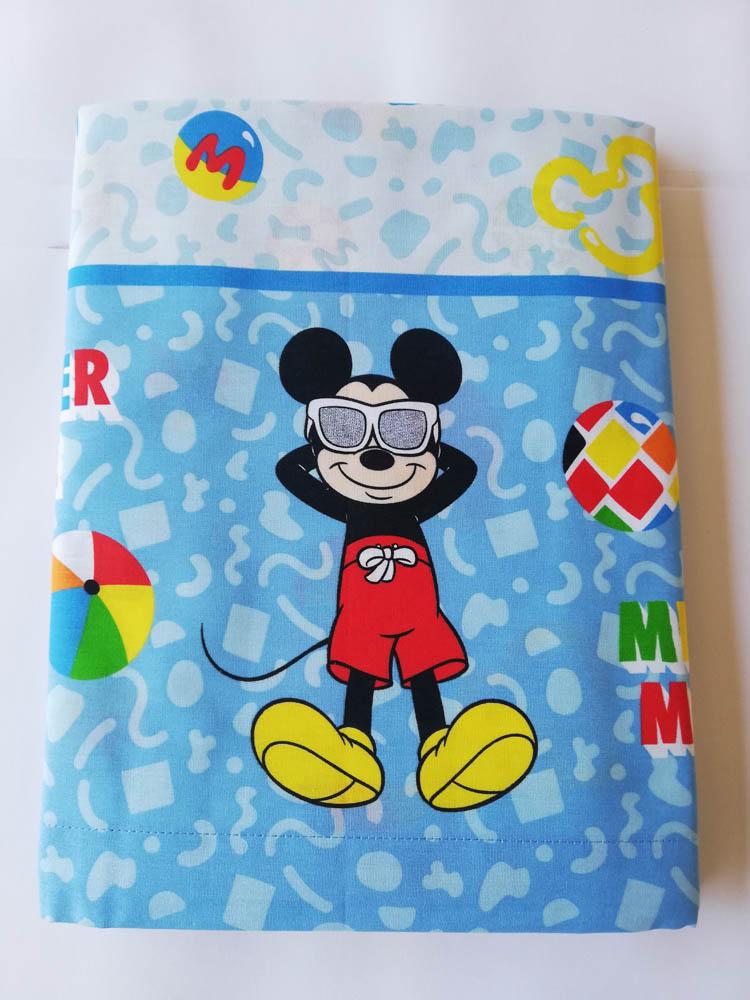 Completo lenzuola Topolino Disney per letto singolo una piazza. A878