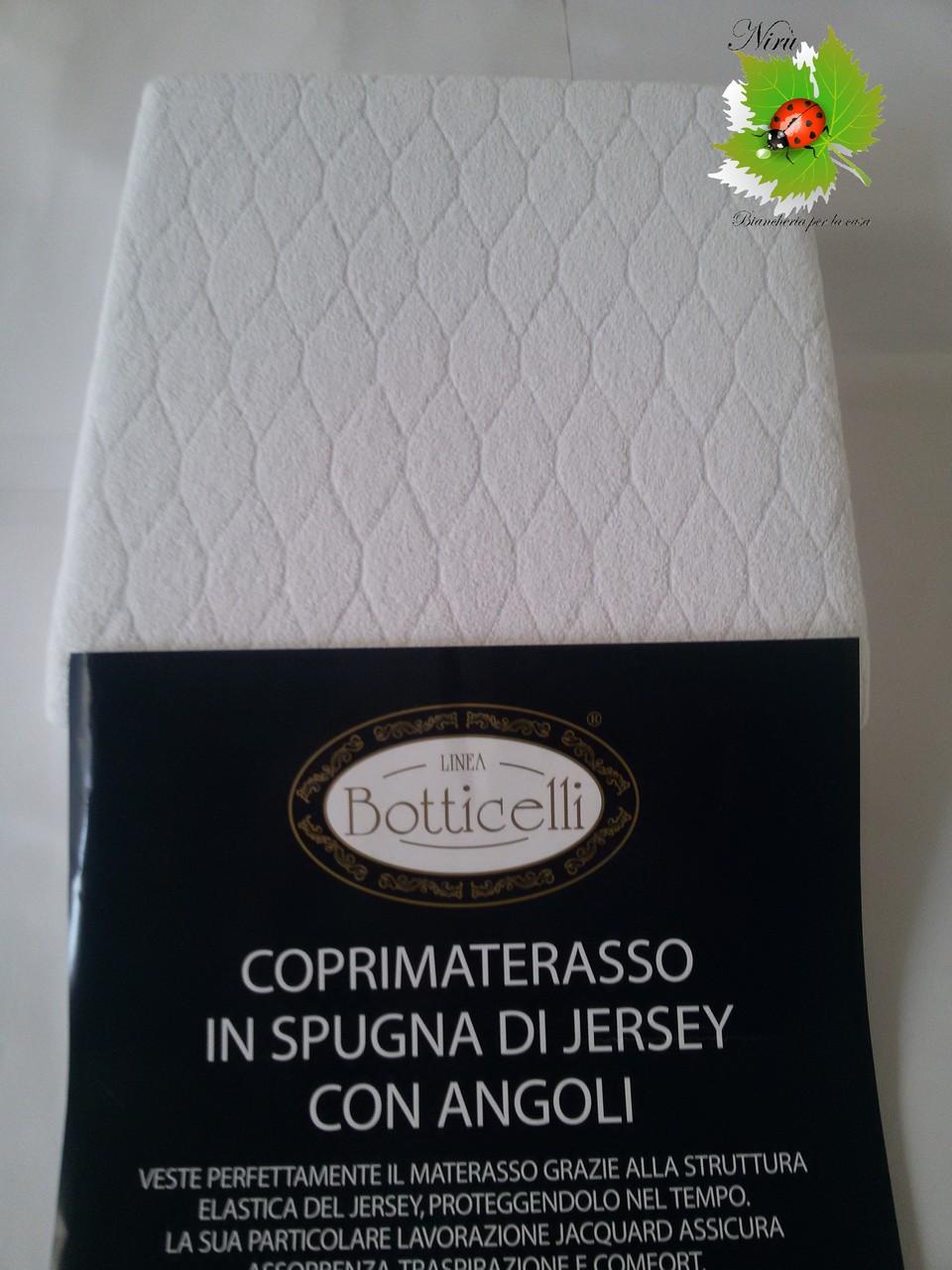 Coprimaterasso singolo Botticelli 90x200cm ART.A142