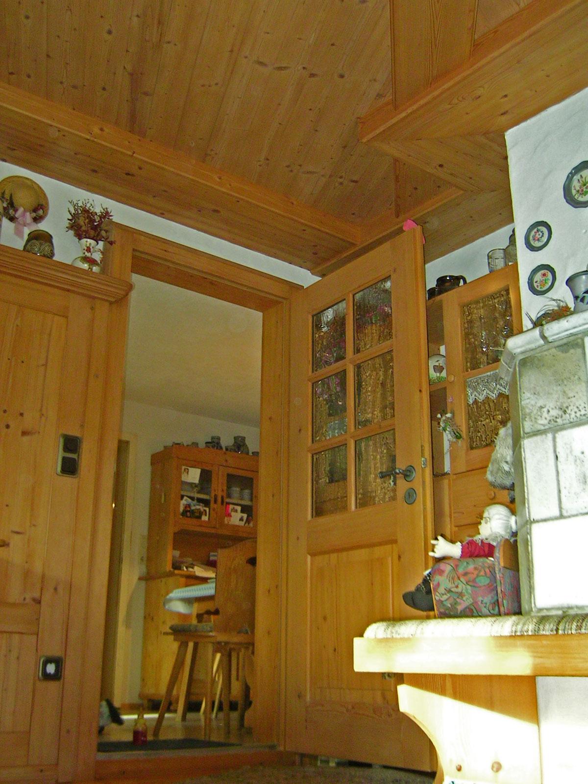 Allgäuer Wohnstube in Fichte strukturiert
