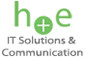 Logo h+e It Solutions & Communications
