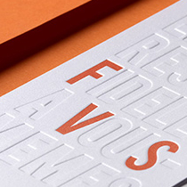 fvsgroup carte de voeux 2017 Martigny typographie