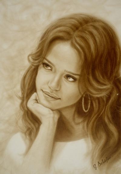 Portrait, 30x40 cm - 158€