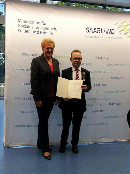 2015 Gesundheitsministerin des Saarlandes Monika Bachmann