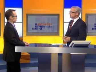 Gesprächsgast mit Moderator Joachim Wyland zum Transplantationskandal 2012 Live.