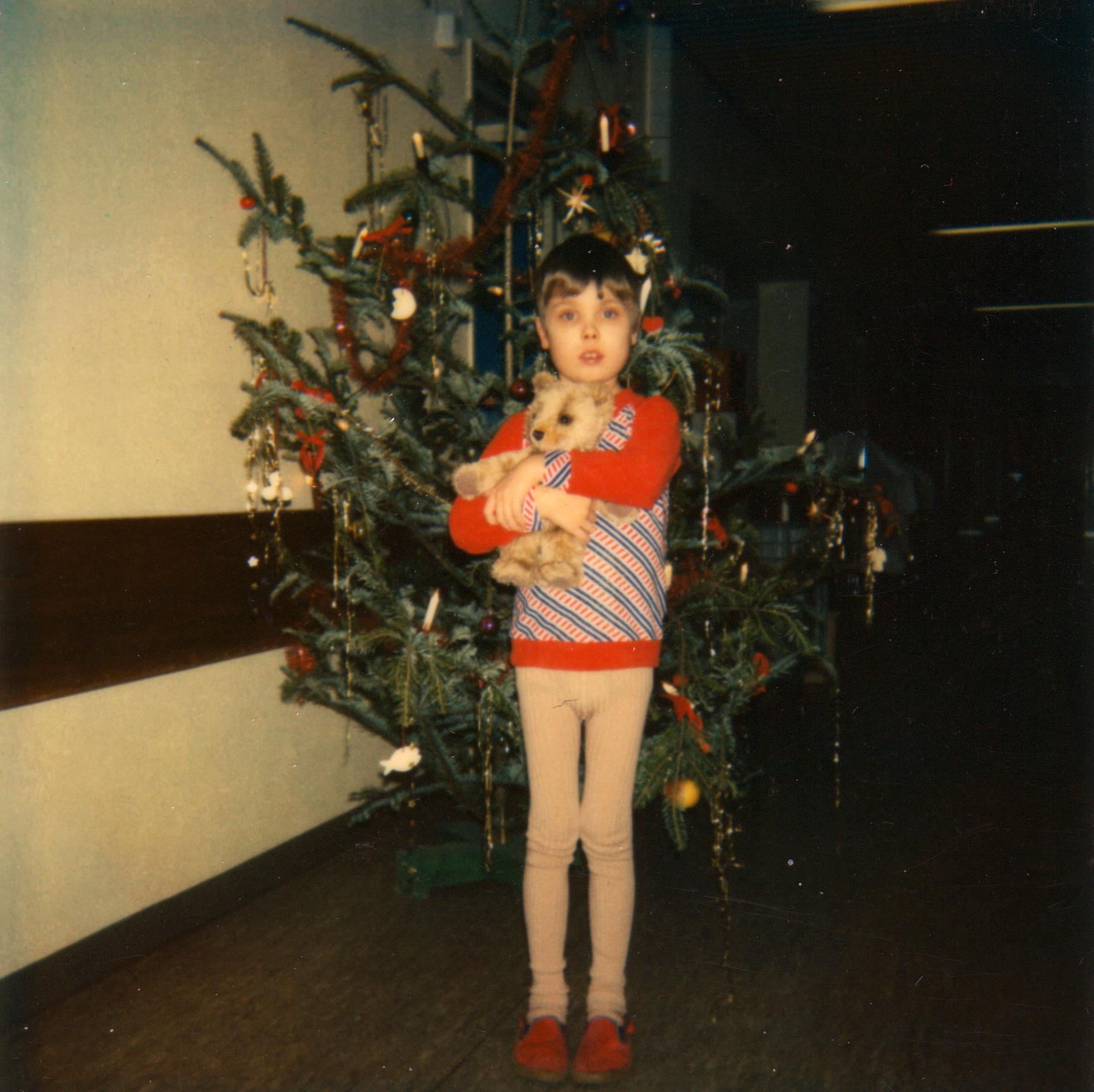 1980 Weihnachten auf Station 6 Wach. Chirurgische Klinik Heidelberg.
