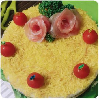 ※そぼろご飯ケーキ